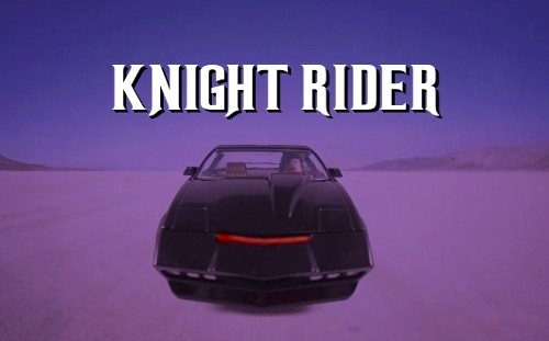 Kinght Rider Title Card